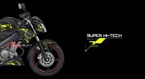 Graphic Kit Yamaha New Vixion Advance Black Super Hi-Tech