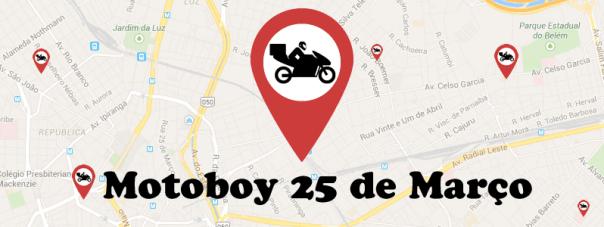 Motoboy 25 de Março