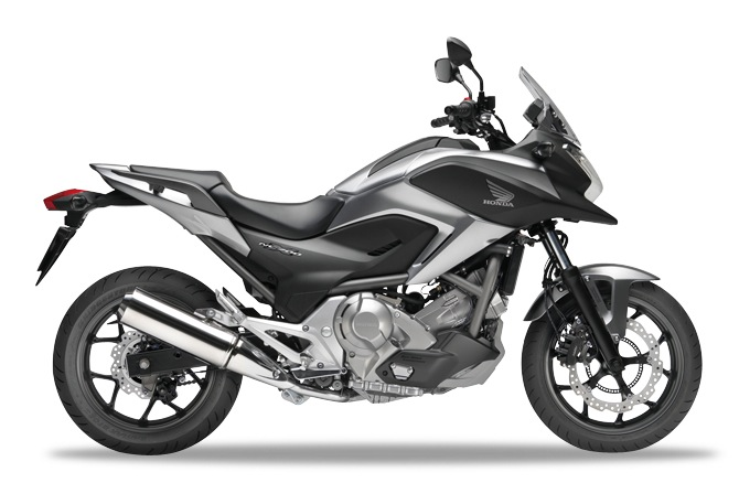 Honda NC700X Digital Silver Metallic