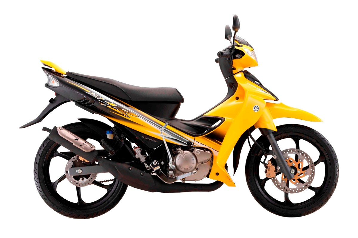 Yamaha 125ZR (2016) warna kuning - RM7,269.00 (asas)