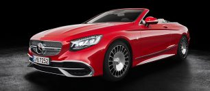 Mercedes Reveal Maybach S650 Cabriolet