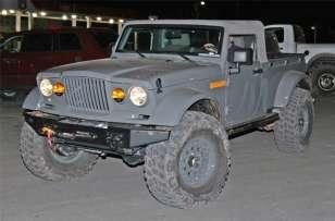 Jeep Nukizer M715 Pickup Truck Concept Moab Front