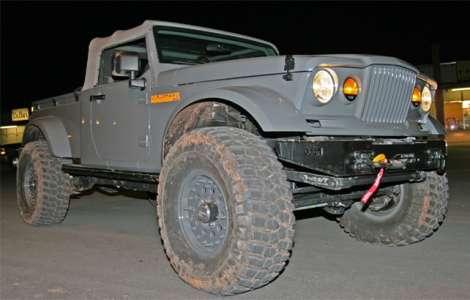 Jeep Nukizer M715 Pickup Truck Concept Moab Side