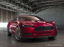Ford Evos Design Concept Fastback 2011 Frankfurt Auto Show-Motor-City