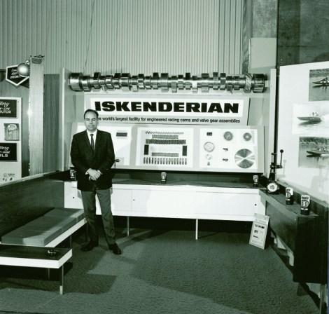 1967 SEMA Show Dodgers Stadium Iskenderian Isky Cams