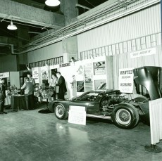 1967 SEMA Show Dodgers Stadium Shelby 1967 Ford GT40