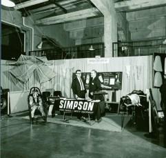 1967 SEMA Show Dodgers Stadium Simpson Safety