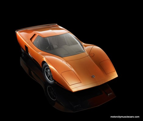 1969 GM Holden Hurricane Concept Car Front