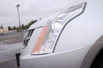 2012 Cadillac SRX Headlight