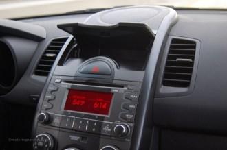 2011 Kia Soul Dash Storage