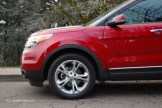 2013 Ford Explorer Limited 20-inch Wheels