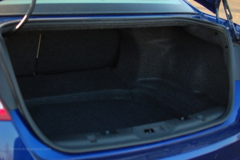 2013 Ford Taurus Trunk