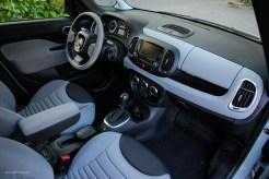 2014 FIAT 500L Interior
