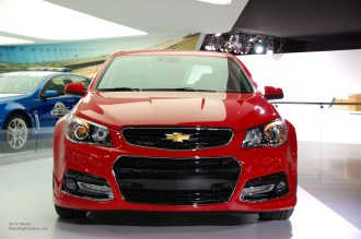 2014 NAIAS Chevy SS Front