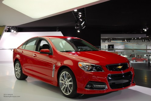 2014 NAIAS Chevy SS