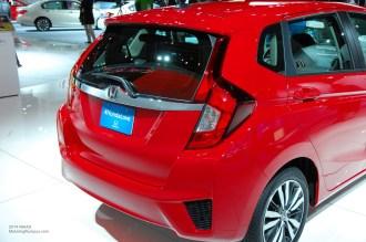 2014 NAIAS Honda Fit Rear
