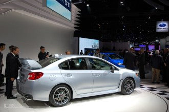 2014 NAIAS - 2015 Subaru WRX STI Side