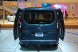 2014 NAIAS Ford Transit Connect Titanium Wagon Rear