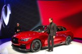 2014 NAIAS Infiniti Q50 Eau Rouge Concept and Design Director Alfonso Albaisa (2)