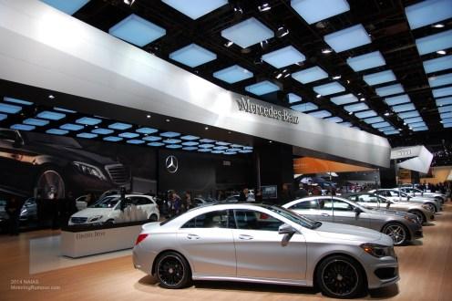 2014 NAIAS Mercedes-Benz CLA Side