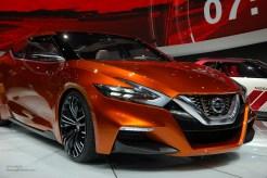 2014 NAIAS Nissan Sport Sedan Concept Front