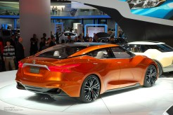 2014 NAIAS Nissan Sport Sedan Concept Rear