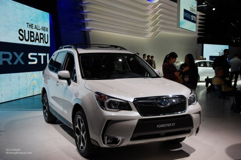 2014 NAIAS Subaru Forester XT