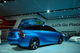 2014 NAIAS Toyota FCV Concept in Radiant Blue