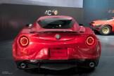 2015 NAIAS Alfa Romeo 4C Rear