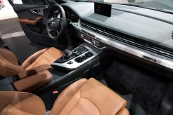 2015 NAIAS Audi Q7 Interior