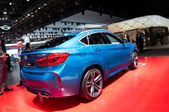 2015 NAIAS BMW X6M Rear