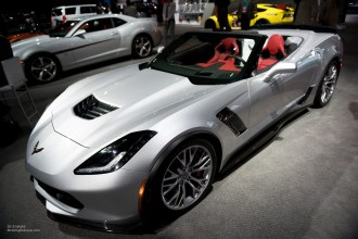 2015 NAIAS Chevy Corvette Stingray Convertible