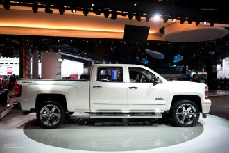2015 NAIAS Chevy Silverado High Country Side