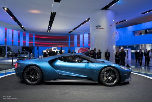 2015 NAIAS Ford GT Side