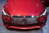 2015 NAIAS Infiniti Q50S Front Bumper