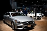 2015 NAIAS Mercedes-Benz CLS Class