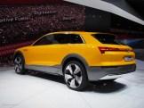 2016 NAIAS Audi h-tron quattro concept Rear