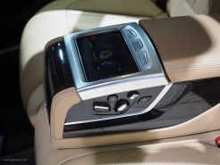 2016 NAIAS BMW 740e Rear Console
