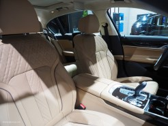 2016 NAIAS BMW 740e Seats