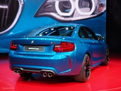 2016 NAIAS BMW M2 Rear