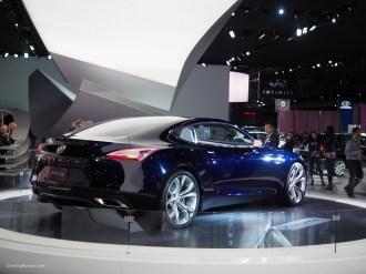 2016 NAIAS Buick Avista Concept Rear