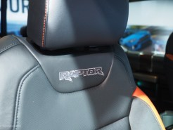 2016 NAIAS Ford 2017 Raptor Seats