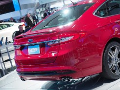 2016 NAIAS Ford Fusion Sport AWD