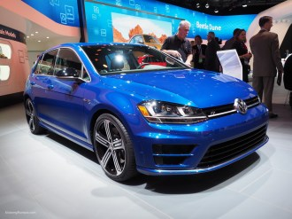 2016 NAIAS VW Golf R