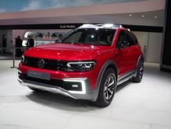 2016 NAIAS VW Tiguan GTE Active Concept Front