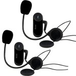 Buyee® 2*Motorrad Bluetooth Gegensprechanlage 800m Sprechanlage Helm Intercom Headset - 1