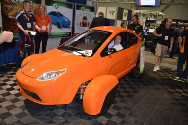 Elio Motors Elio P5 SEMA Andres O'Neill photo 01