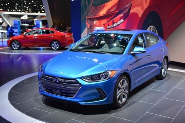 Hyundai selececcionó en Los Angeles Auto Show para el debut mundial del Elantra 2017. FOTOS: Andrés O'Neill, Jr.