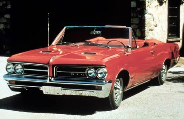 Más raro que ver un  GTO  de 1964 es ver un GTO del 1964 convertible. Sólo fueron producidas 6,644 unidades.
