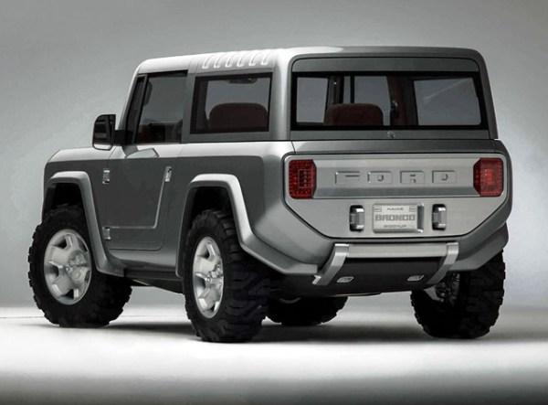 Muchos medios afirman que el diseño de la próxima Bronco estará basado en este prototipo presentado en Detroit en el 2004.